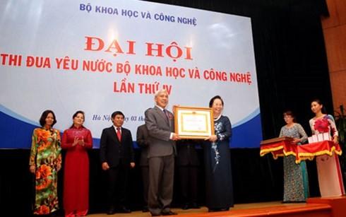 В Ханое прошел съезд патриотических соревнований научно-технологической отрасли СРВ - ảnh 1