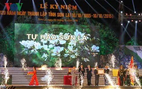 Провинция Шонла отметила 120-летие со дня своего основания - ảnh 1