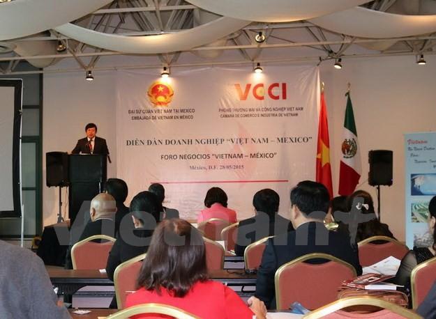 Мексиканские предприятия желают расширить инвестиционное сотрудничество с Вьетнамом - ảnh 1