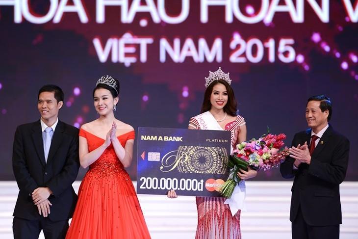 «Мисс Вселенной Вьетнама-2015» стала красавица из Хайфона - ảnh 1