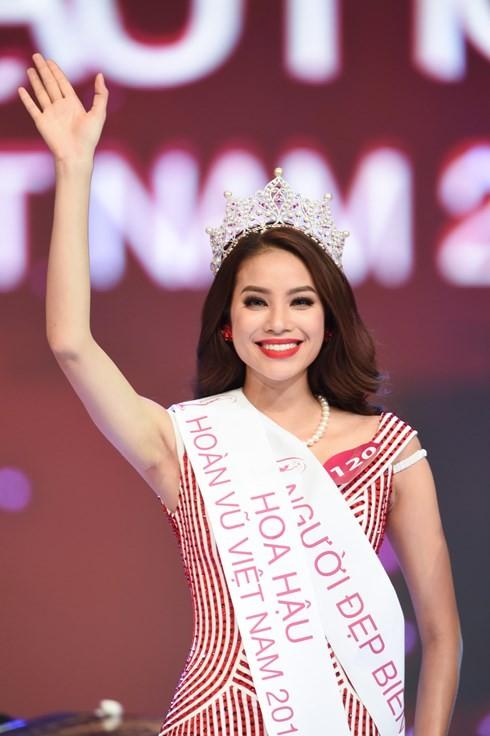 Финал конкурса «Мисс Вселенная Вьетнама-2015» - ảnh 1