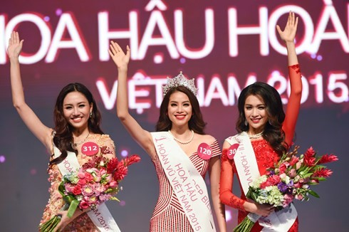 Финал конкурса «Мисс Вселенная Вьетнама-2015» - ảnh 3