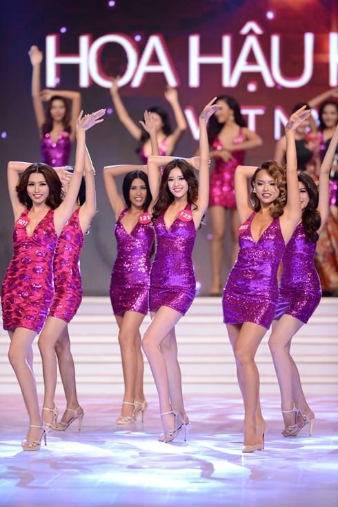 Финал конкурса «Мисс Вселенная Вьетнама-2015» - ảnh 4