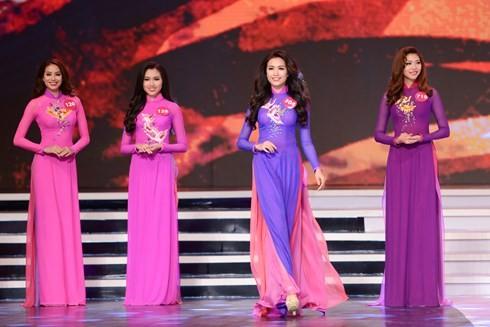 Финал конкурса «Мисс Вселенная Вьетнама-2015» - ảnh 5