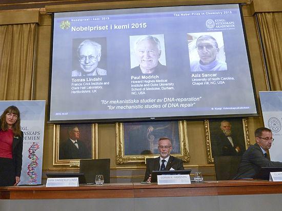 Нобелевскую премию по химии разделили ученые из Швеции, США и Турции - ảnh 1
