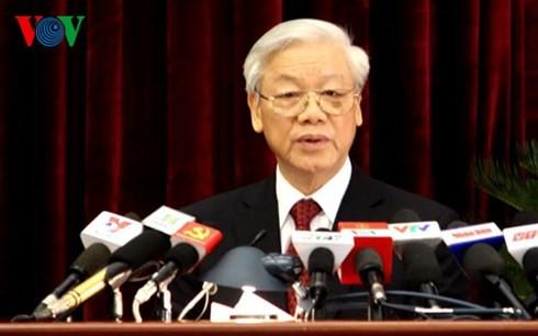 В Ханое завершился 12-й пленум ЦК Компартии Вьетнама 11-го созыва - ảnh 1