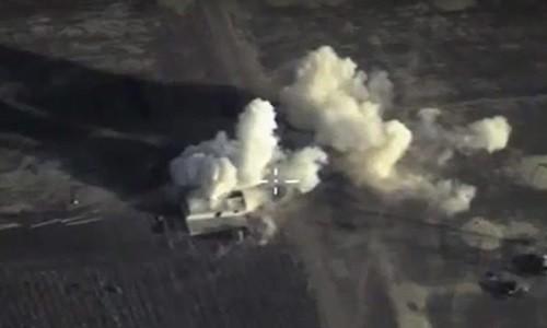 Российская авиация уничтожила ряд объектов ИГ в Сирии - ảnh 1