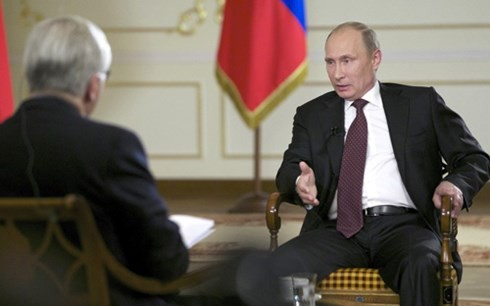 Путин: Россия не будет размещать в Сирии сухопутные войска - ảnh 1