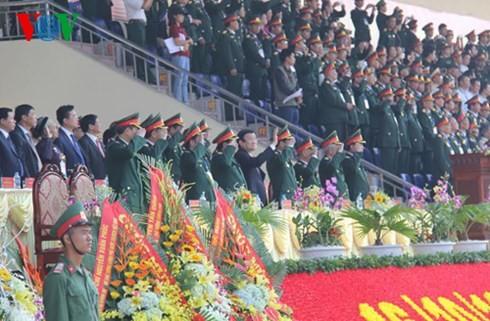 Первый военный округ ВС СРВ придаёт важное значение сохранению территориальной целостности страны - ảnh 1