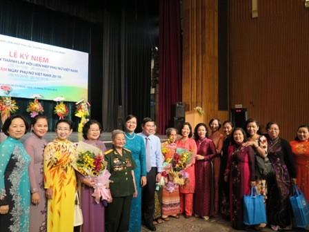 В Хошимине отмечают 85-летие со дня создания Федерации вьетнамских женщин - ảnh 1