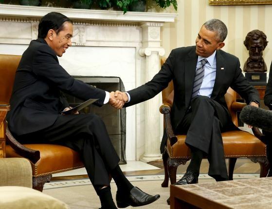 Президенты США и Индонезии провели переговоры в Белом доме - ảnh 1