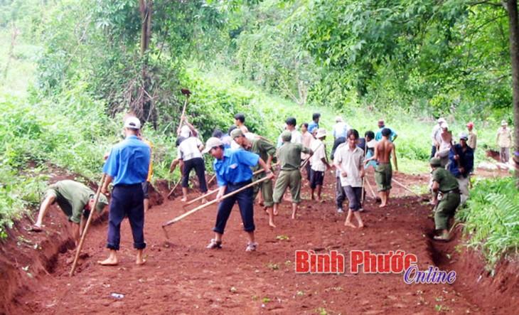 Провинция Биньфыок создает консенсус в строительстве новой деревни - ảnh 3