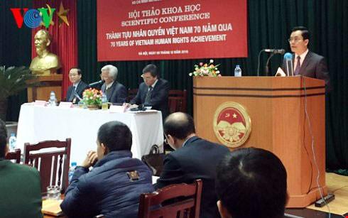 Последовательная политика Партии и Государства Вьетнама – всё ради человека - ảnh 1