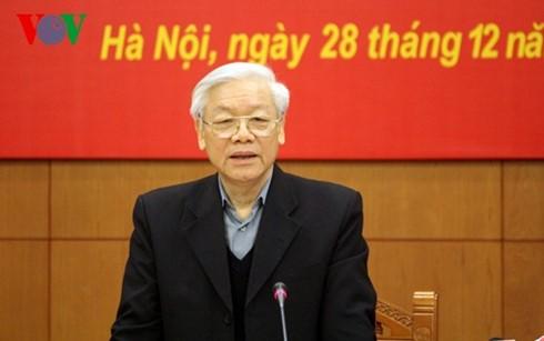 В Ханое состоялось 9-е заседание по профилактике и борьбе с коррупцией - ảnh 1
