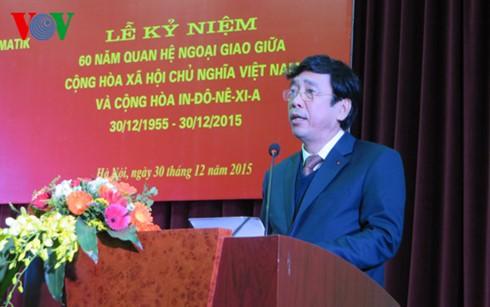 Отмечается 60-летие со дня установления вьетнамо-индонезийских дипотношений - ảnh 1