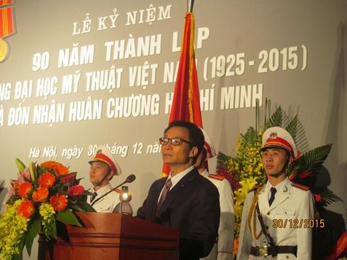Вьетнамский институт изящных искусств награжден орденом Хо Ши Мина - ảnh 1