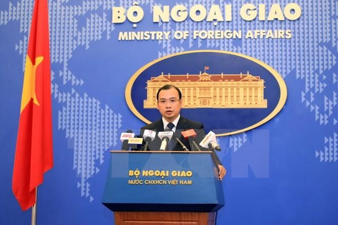 Вьетнам решительно выступает против нарушения Китаем суверенитета Вьетнама - ảnh 1