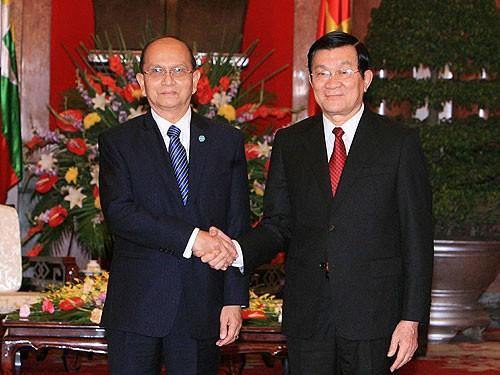 Руководители Вьетнама поздравили руководство Мьянмы с Днем независимости страны - ảnh 1