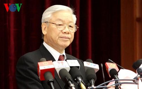 В Ханое открылся 14-й пленум ЦК Компартии Вьетнама 11-го созыва - ảnh 1