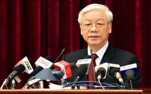 В Ханое завершился 14-й пленум ЦК Компартии Вьетнама 11-го созыва - ảnh 1