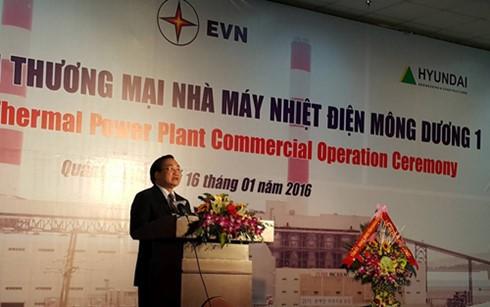 Открылась первая во Вьетнаме ТЭС, работающая на основе современных котельных технологий - ảnh 1