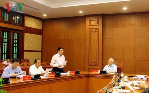 В Ханое прошло совещание Центрального комитета по профилактике и борьбе с коррупцией - ảnh 1