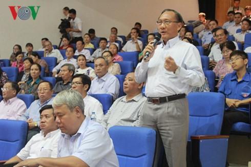 Президент Вьетнама встретился с избирателями города Хошимин - ảnh 2