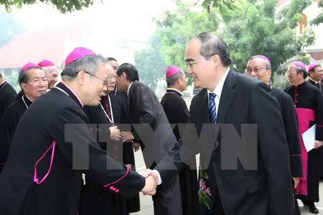 Католическая церковь Вьетнама – неотъемлемая часть национального единства - ảnh 1