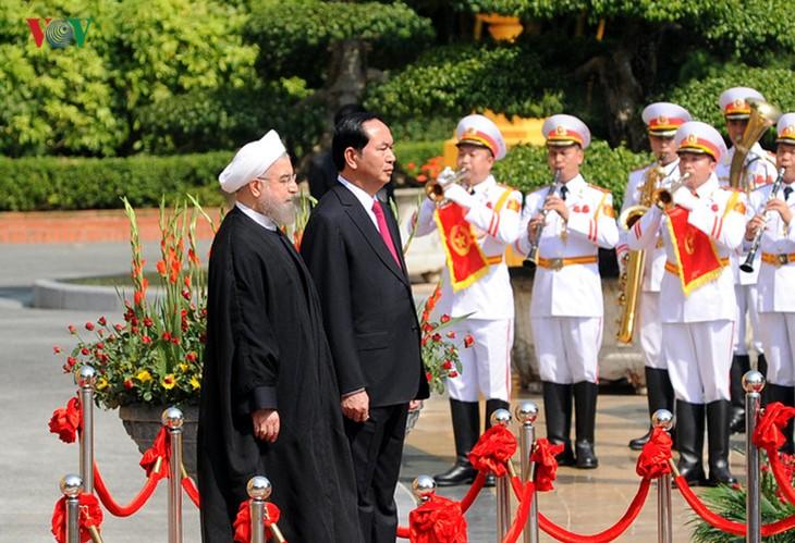 Активизация сотрудничества между Вьетнамом и Ираном - ảnh 1
