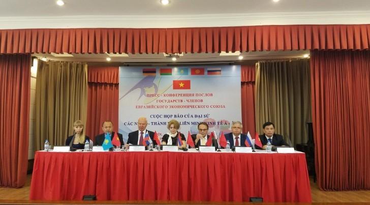 Вступление в силу Соглашения о ЗСТ между СРВ и ЕАЭС - ảnh 1