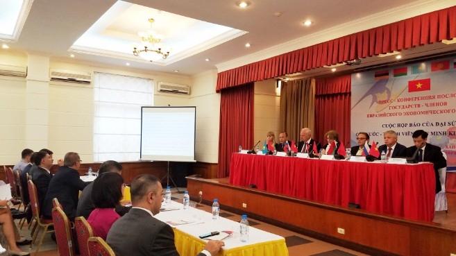 Вступление в силу Соглашения о ЗСТ между СРВ и ЕАЭС - ảnh 2