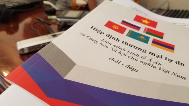 Вступление в силу Соглашения о ЗСТ между СРВ и ЕАЭС - ảnh 8