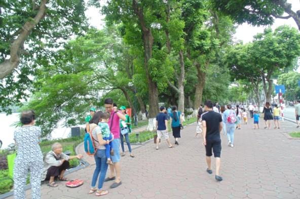 Пешеходное пространство в Ханое - ảnh 5