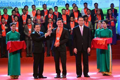 Чан Дай Куанг принял участие в программе «Гордость за вьетнамских крестьян» - ảnh 2