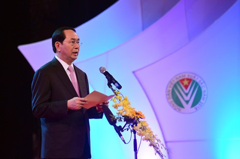 Чан Дай Куанг принял участие в программе «Гордость за вьетнамских крестьян» - ảnh 1