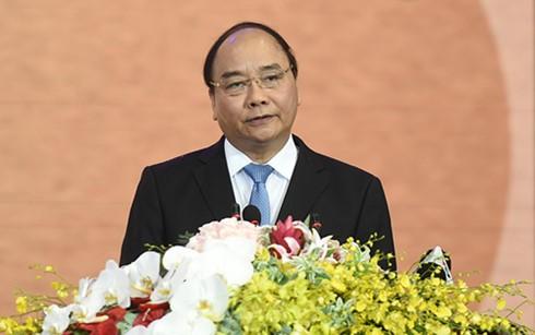 Премьер Вьетнама принял участие в конференции по продвижению инвестиций в провинцию Лонган - ảnh 1