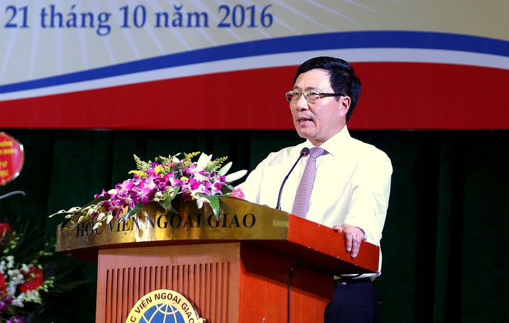 Фам Бинь Минь: Подготовка дипломатов должна отвечать требованиям международной интеграции - ảnh 1