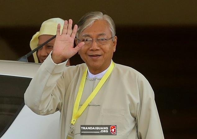 Президент Мьянмы посетит Вьетнам с государственным визитом - ảnh 1