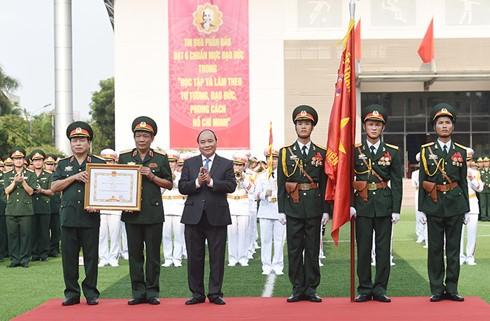 Военно-политическая академия была награждена орденом «За боевую доблесть» - ảnh 1
