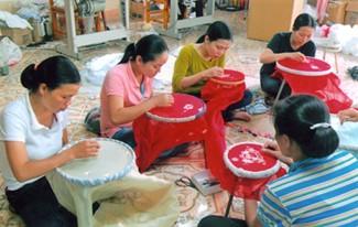 Деревня кружев Ванлам в провинции Ниньбинь - ảnh 2