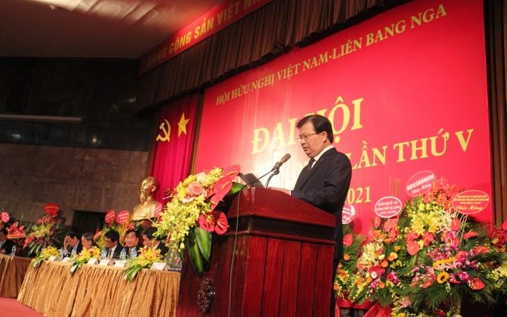 Общество вьетнамо-российской дружбы занимает важное место в народной дипломатии - ảnh 1