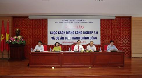 В Ханое состоялся семинар по 4-й промышленной революции - ảnh 1