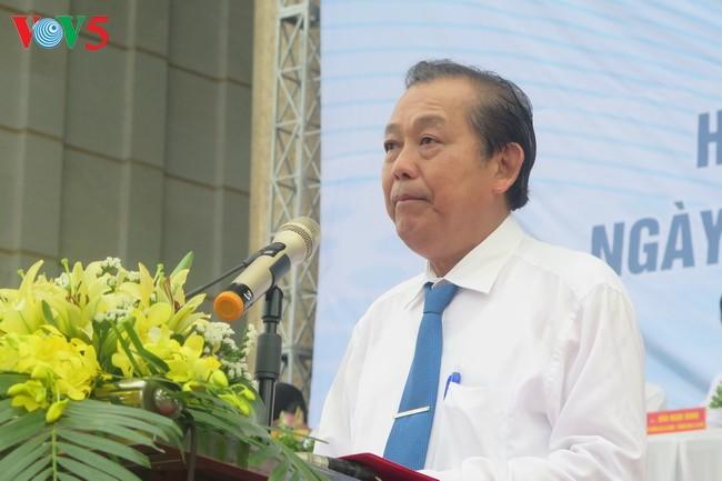 В провинции Бакзянг прошёл митинг, посвящённый Месячнику действий по борьбе с наркоманией - ảnh 1