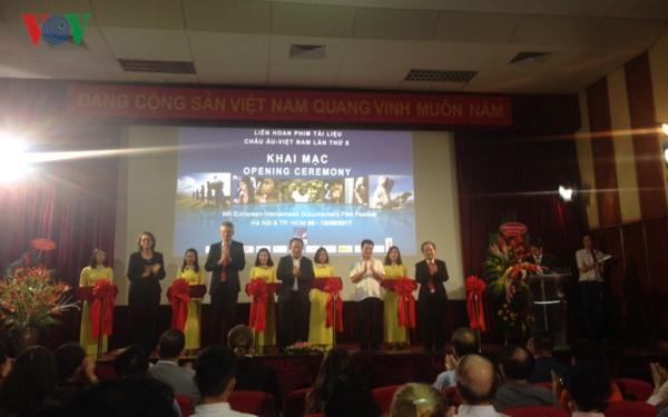 В Хошимине открылся 8-й вьетнамо-европейский фестиваль документального кино - ảnh 1