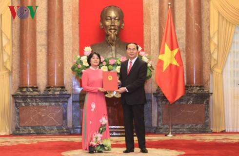 Чан Дай Куанг: Вьетнам должен развиваться в соответствии с национальными интересами - ảnh 1