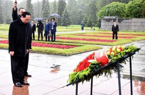 Президент СРВ Чан Дай Куанг начал свою деятельность в Санкт-Петербурге - ảnh 1