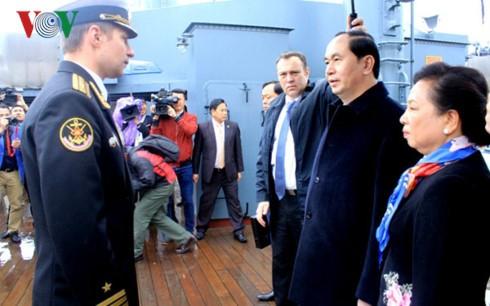 Президент СРВ Чан Дай Куанг начал свою деятельность в Санкт-Петербурге - ảnh 2