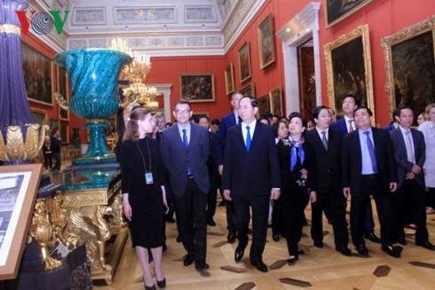 Президент СРВ Чан Дай Куанг начал свою деятельность в Санкт-Петербурге - ảnh 3