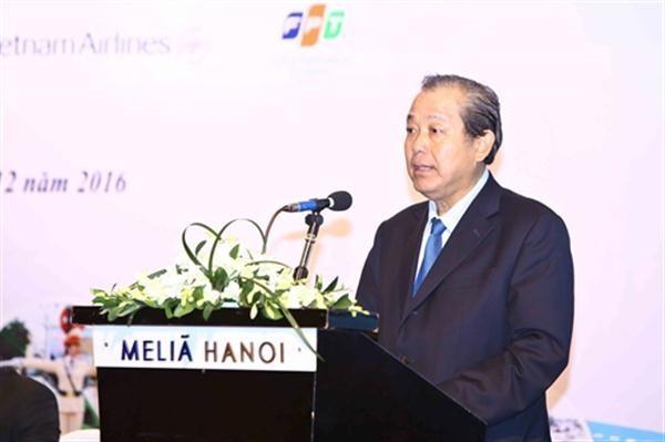 Чыонг Хоа Бинь председательствовал на конференции по обеспечению безопасности дорожного движения - ảnh 1
