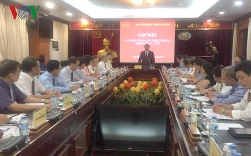 Организационный отдел ЦК КПВ провел встречу с новыми послами и генконсулами СРВ за границей - ảnh 1